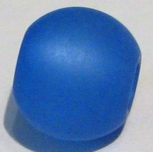 Polarisperle blau 10 mm - Großloch
