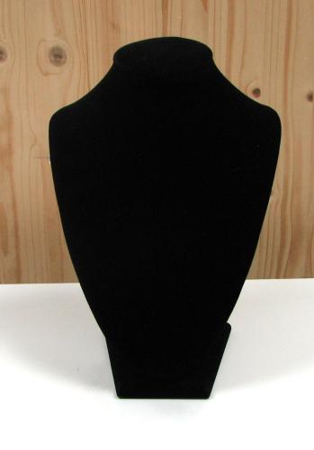 Schmuckbüste / Dekobüste 24x18 cm - schwarz