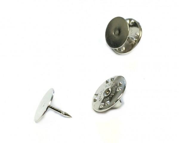 Clutch-Pin - Anstecker - Pin - Anstecknadel - Platte 10mm - 1 Stück