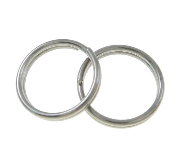 Sprengring / Spiralöse - Edelstahl - 10x0,8mm - 1 Stück