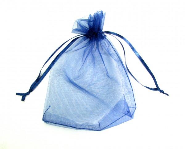 Organzabeutel - Schmuckverpackung 13x10cm blau