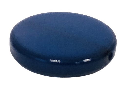 Polaris Coin 20mm nachtblau glänzend